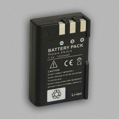 Digi Power Nikon EN-EL9 7.4V 1100mAh Li-ion baterija