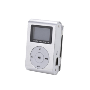 Gigatech GMP-13 FM/LCD MP3 srebrni player