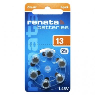 Renata ZA 13 1.4V baterija za slušni aparat