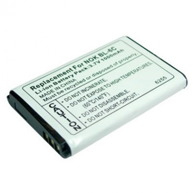Vip Nokia E70 BL-6C 3.7V 1000mAh Li-ion baterija za mobilni telefon