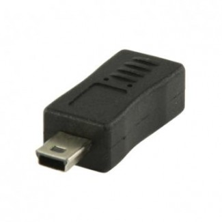 Adapter VLCP60907B USB 2.0 mini 5pin utik.-USB Micro B utik.