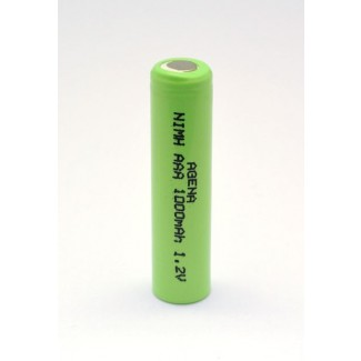 Agena Energy AAA 1.2V 1000mAh Ni-MH industrijska punjiva baterija