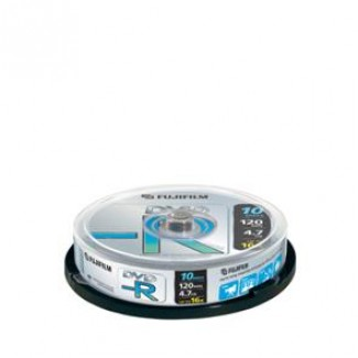 FujiFilm DVD-R 4.7GB 16x LF 1/10