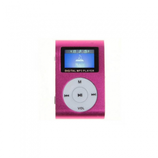 Gigatech GMP-13 FM/LCD MP3 pink player
