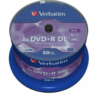 Verbatim DVD+R 8.5Gb 8x Double Layer Printable 1/50