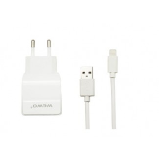 Vip WEWO W-004 2 x USB 2400mA punjač + iPhone 5/6 USB data cable