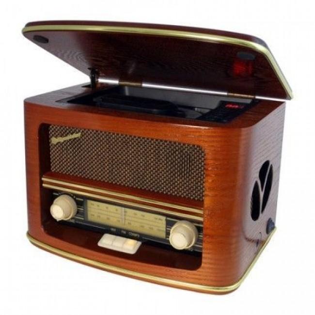 Roadstar HRA1500 radio sa drvenim kućištem