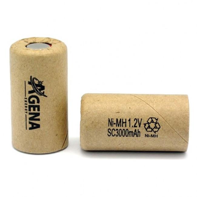 Agena Energy SC 1.2V 3000mAh Ni-MH industrijska punjiva baterija