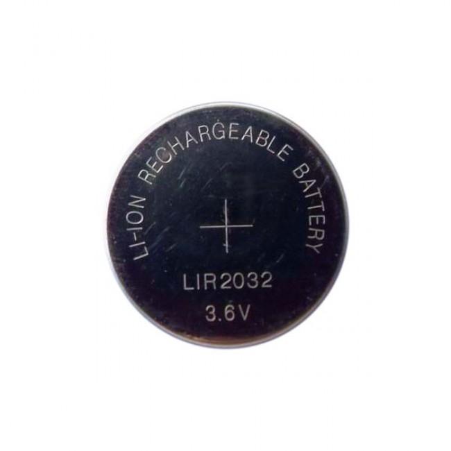 Baterija LIR2032 3.6V 40mAh Li-Ion punjiva