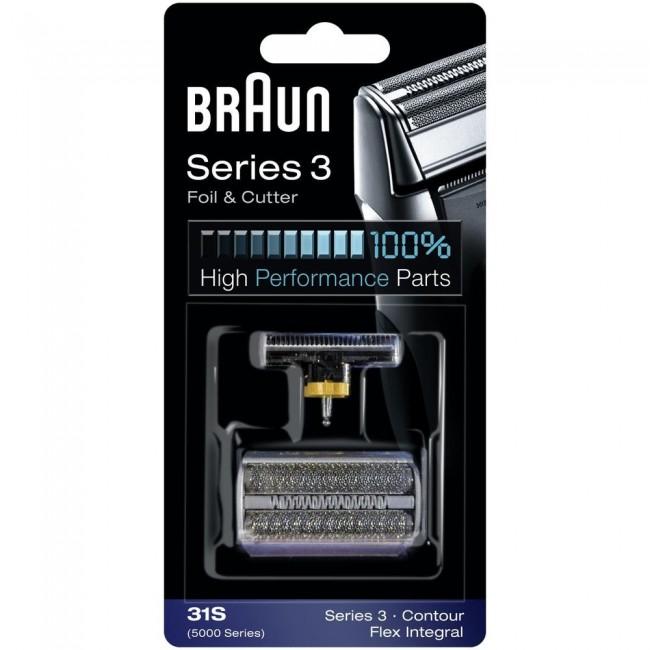 Braun Combipack 31S/31B (5000/6000 series) mrežica+nožić