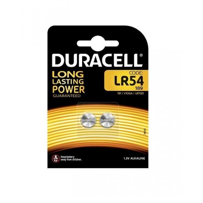 Duracell LR54 1/2 1.5V alkalna baterija