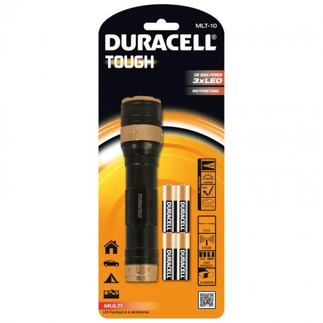 Duracell Tough MLT-10 LED baterijska lampa sa 4 AA baterije
