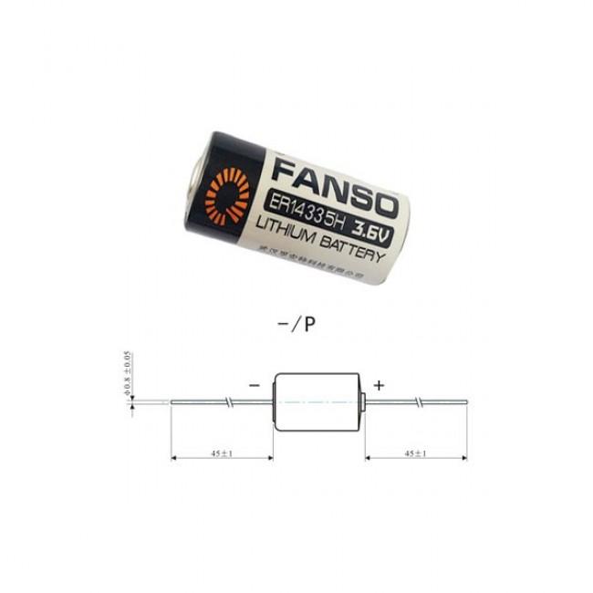 Fanso ER14335H/P 3.6V 1.65Ah litijumska baterija