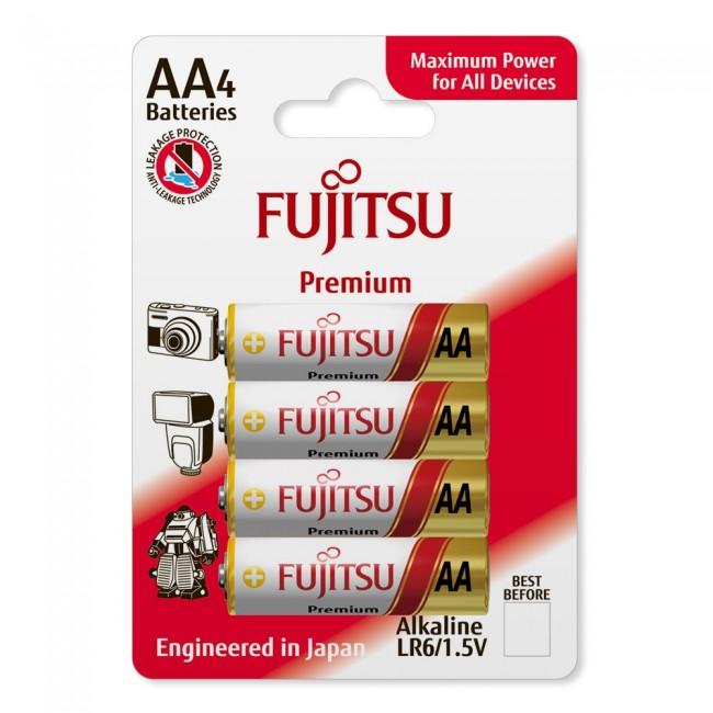 Fujitsu LR6(4B) FP 1/4 1.5V alkalne baterije