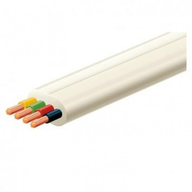 Kabel PGA4LC telefonski 4-žilni pljosnati 4x0,12mm