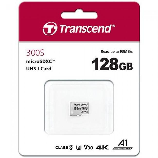 Transcend TS128GUSD300S Micro SD 128GB memorijska kartica