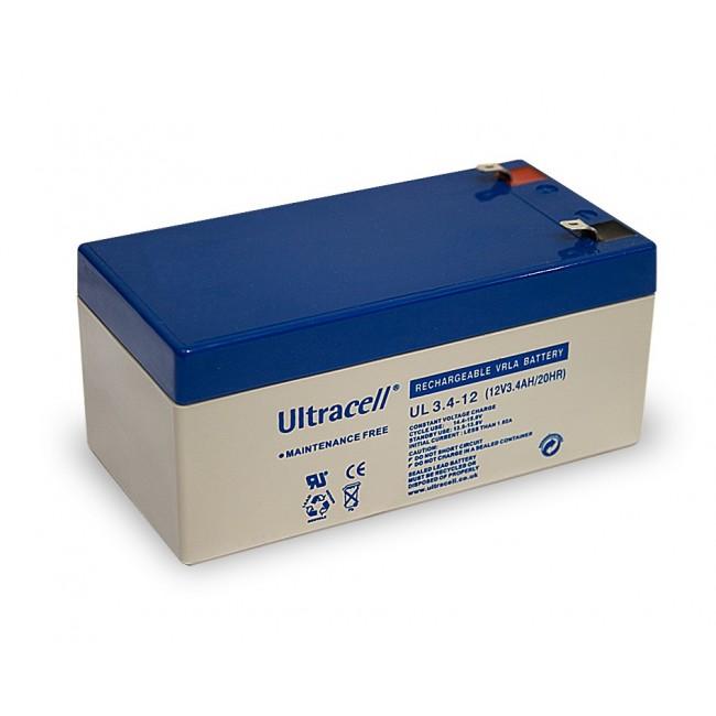 Ultracell UL3.4-12 12V 3.4Ah SLA stacionarni akumulator