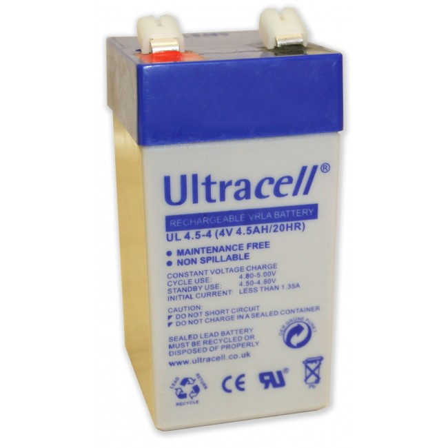 Ultracell UL4.5-4 4V 4.5Ah SLA stacionari akumulator