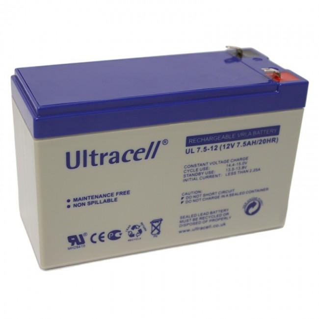 Ultracell UL7.5-12 12V 7.5Ah SLA stacionarni akumulator