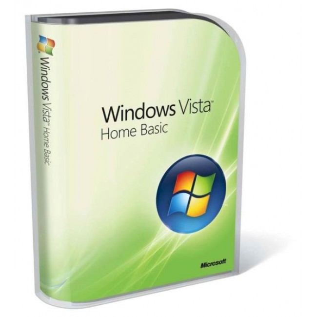 Windows Vista Home Basic Engl 32-bit 1pk OEM DVD