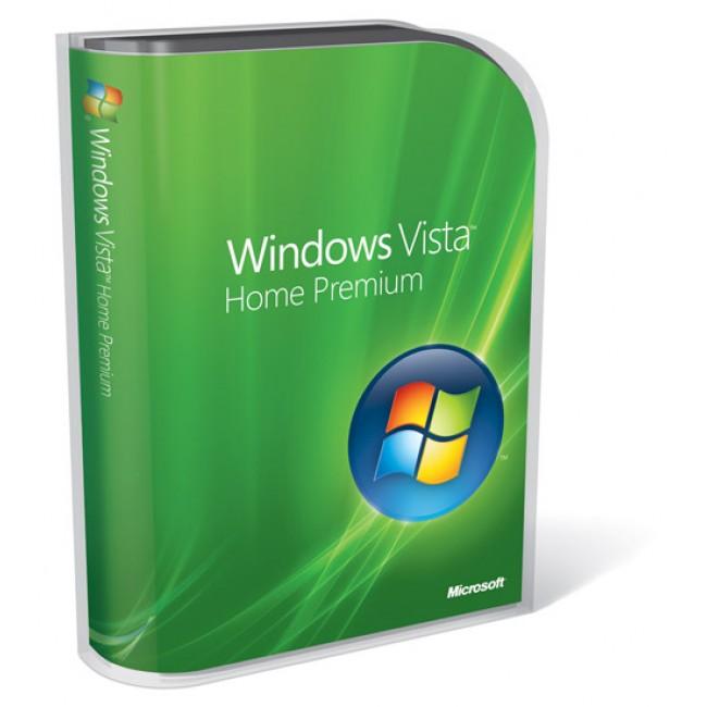 Windows Vista Home Prem SP1 32-bit English 1pk OEM DVD
