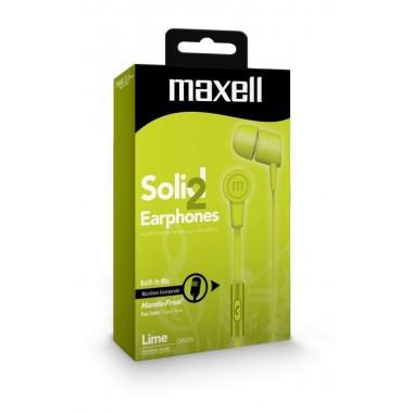 Maxell SIN-7 SOLID2 Flat Zelena MLA slušalice