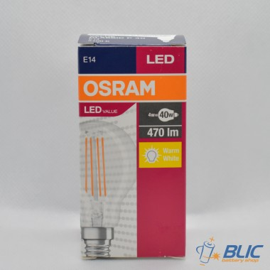 Osram VALUE CL P FIL 40 non-dim E14 4W/827 LED sijalica
