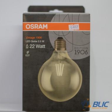 Osram Vintage 1906 LED CL GLOBE 125 FIL GOLD 21 E27 2,8W/824 LED sijalica