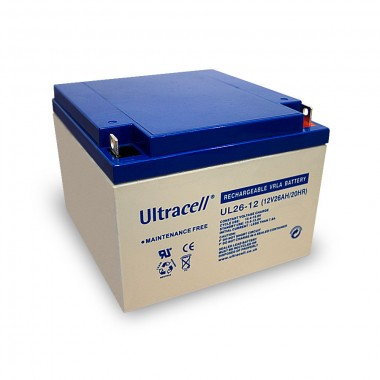 Ultracell UL26-12 12V 26Ah SLA stacionarni akumulator