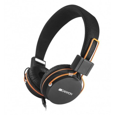 Canyon CNE-CHP2 crne slušalice sa mikrofonom
