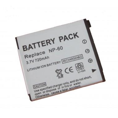 Digital Casio NP-60C 3.7V 720mAh Li-ion baterija