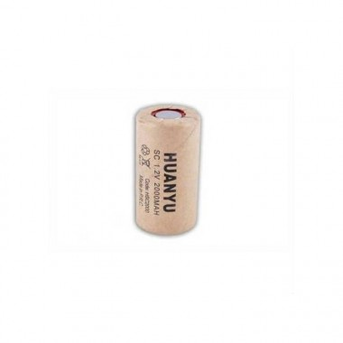 Huanyu SC 1.2V 2000mAh Ni-Cd industrijska punjiva baterija