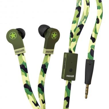 Maxell Flat WIRE CAMO slušalice