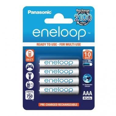 Panasonic eneloop AAA 1/4 1.2V 750mAh NiMH punjiva baterija