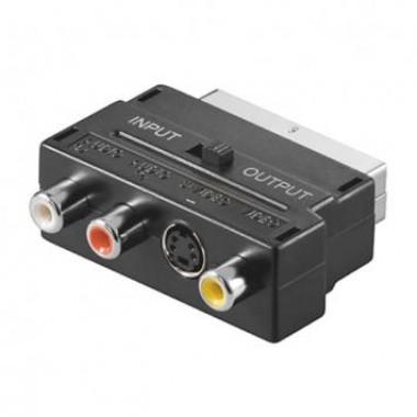 Prosto adapter V50S skart utikač-3xčinč+S-VHS sa prek.