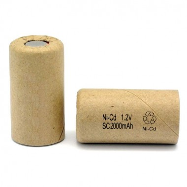 SC 1.2V 2000mAh Ni-Cd industrijska punjiva baterija