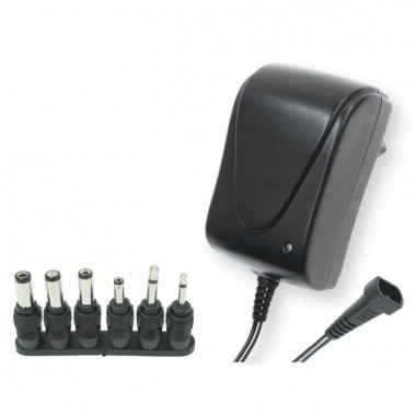 Somogyi Elektronic MW3R15 3-12V/1500mA 6 priklj./EuP stand. adapter