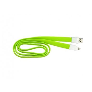 Vip USB Data Cable Remax RC-011i Full Speed za iPhone 5/6 (2A) zeleni 1m