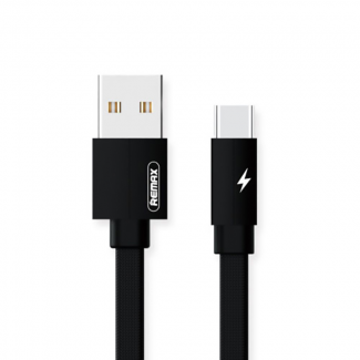 Remax USB Data Cable REMAX RC-094a Karolla FULL SPEED Type-C (2.4A) Crni 2m