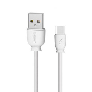 Remax RC-134a  USB Data Cable Type-C (2.1A) beli 1m