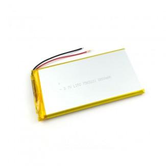 Baterija 3.7V 8000mAh 7565121-PCM Li-ion polymer
