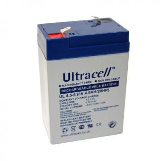 Ultracell UL4.5-6 6V 4.5Ah SLA stacionarni akumulator