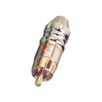 Činč utikač metalni pz. teflon za 6,2mm CRVENI RCA15G