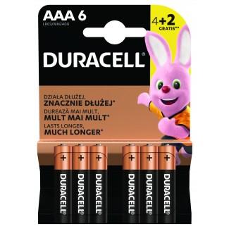 Duracell BASIC LR03 4+2 1.5V alkalna baterija