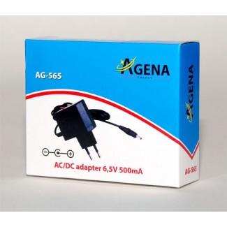 Agena Energy AG-565 6,5V 500mA AC/DC adapter
