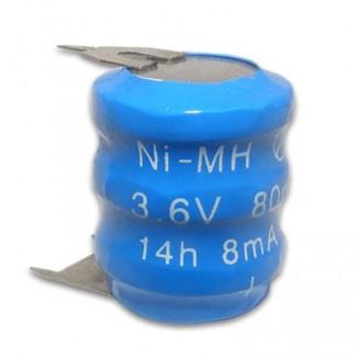 Baterija 3/V 3P 3.6V 80mAh Ni-MH punjiva