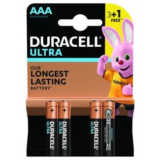 Duracell ULTRA LR03 3+1 1.5V alkalna baterija