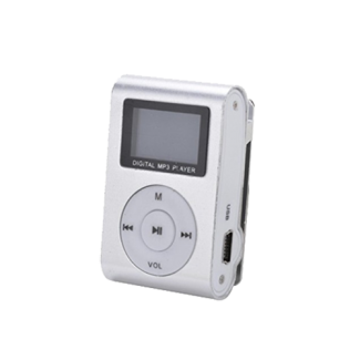 Gigatech GMP-13 FM/LCD MP3 srebrni player