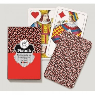 Piatnik 1800 1/1 PREFERENCE karte