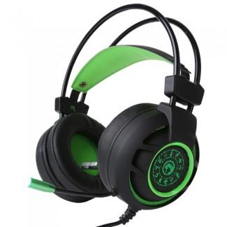 Marvo HG9012 7.1 USB Gaming , Crno/zelene slušalice sa mikrofonom